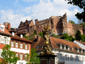 Heidelberg: A city, quaint yet charmingly chic.