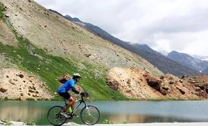 Manali-Leh-Khardungla Cycling.