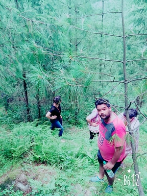 A trek with family