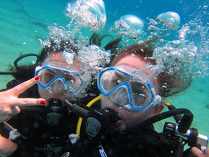 Discover scuba diving in Mykonos, Greece