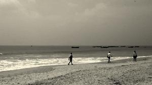 Sea front from the Ramayana's Tale - Rameshwaram
