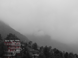 Fogged up Journey to Triund