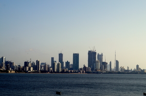 Yes it is Mumbai Skyline