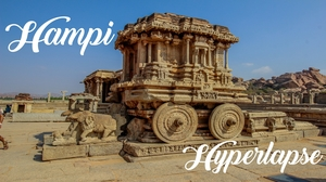 Hampi Hyperlapse - Showcasing the Grandeur of Vijayanagara Empire
