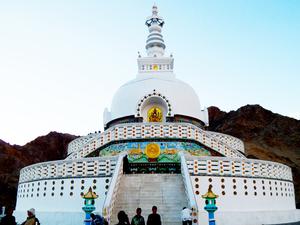 Monastery Tour - Shanti Stupa - Leh Ladakh