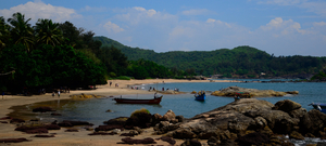 Beach Bum in Gokarna