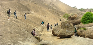 Savandurga: One amongst the highest monoliths of Asia! (near Bangalore)