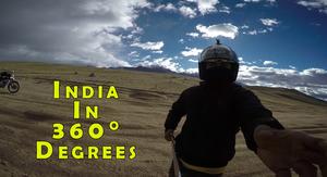 Around India in 360° degrees