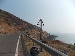 Bike trip to Goa through coastal highway