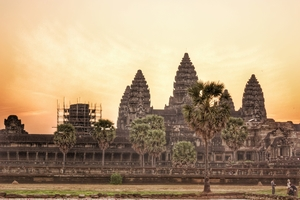 The magnificent temples of Angkor