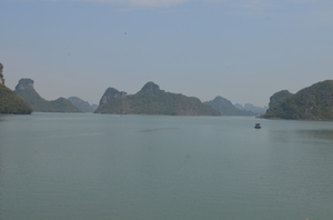 Cat Ba Island - Of limestone karsts and emerald waters