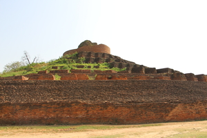 Kesaria, Bihar - the highest stupa of the world !!