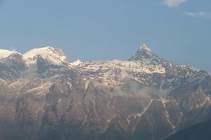 Mount Kinnaur Kailash, Kalpa, and the Kinnauri Apple Orchards