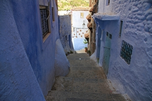 Making a Donkey of Yourself in Chefchaouen, Morocco