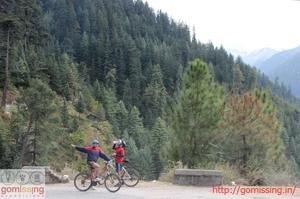Mountain biking expedition Manali to Shimla