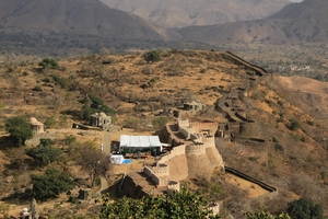 The Great Wall Of India: Kumbhalgarh, Rajasthan