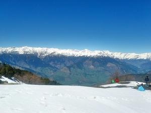 Snow trek in Manali