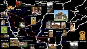 ROAD TRIP - MUMBAI TO TIRUPATI VIA HAMPI