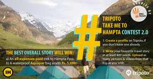 Write a Story on Tripoto and Win a Gorgeous Winter Trek to Brahmatal!