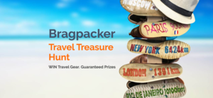A Contest Where Every Participant Wins - The Bragpacker Travel Treasure Hunt