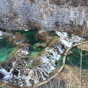 Hiking the beautiful Plitvice Lakes National Park