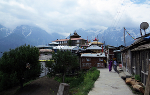 Kalpa, the 'view point' of Kinner Kailash