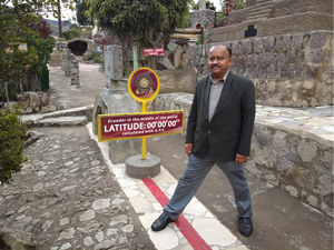 I stood on the Middle of the World ! The Ecuador Experience