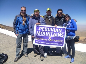 Trekking at Cordillera Huayhuash, Peru