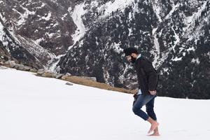 Triund: A winter trek into wilderness