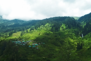 When, beyond Solang Valley, I got lost...