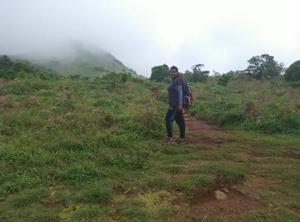 Tadiandamol, A Misty Valley - Second Highest of Karnataka