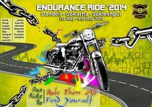 Endurance Ride: Bangalore – Dandeli – Gokarna – Sakleshpur