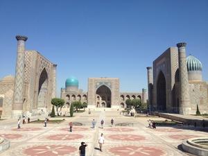 Nip across to Uzbekistan