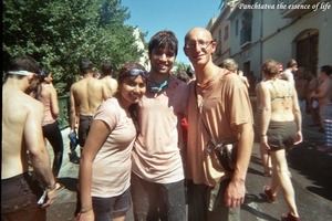 Just 'paint the world in Red' at La Tomatina