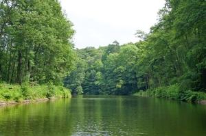 From lake to lake- Rafting in Mecklenburg