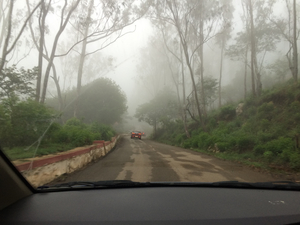 Short early morning trek to Nandi hills