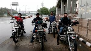 Bike Ride to Garhmukteshwar