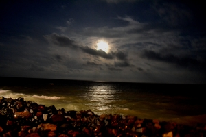 Sea, Sand & Sun at Pondicherry