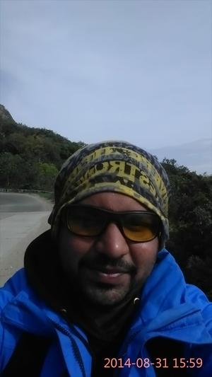 Thejus Guruvareddy Travel Blogger