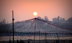 One Fine Evening In Rishikesh