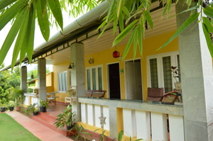 A home away from home .... Harvest Fresh Farms  , Theni district , Tamil Nadu