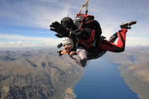 Defying Gravity – Skydiving in Queenstown