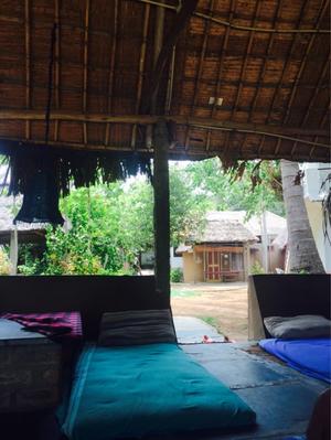 Do nothing at hippie island #HAMPI