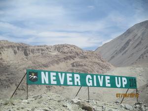 Mountains Broke The Monotony In Ladakh