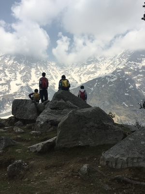 Triund Backpacking