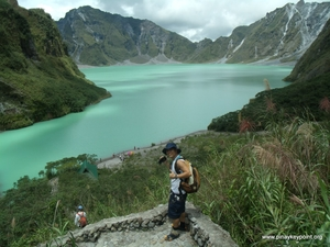 Trek to Mount Pinatubo, Philippines