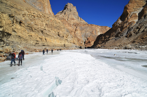 Chadar Trek - Walking on (thin) Ice