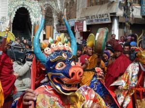 Dosmoche Festival, Ladakh.