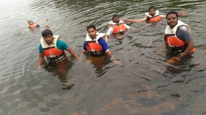 Still water Rafting at Dubare