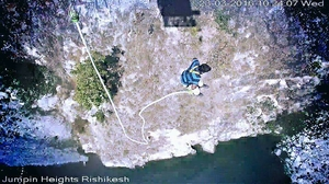 Bungee Jumping from 83 meters -Jumping Heights[Rishikesh]